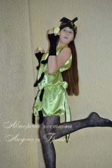 карнавальный костюм гусеницы для девочки фото
