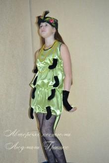 фото костюм сороконожки с митенками для девочки