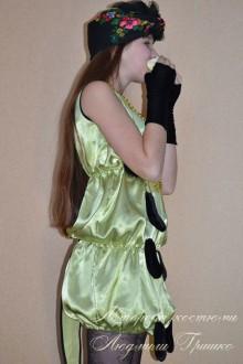 костюм гусеницы фото в платке