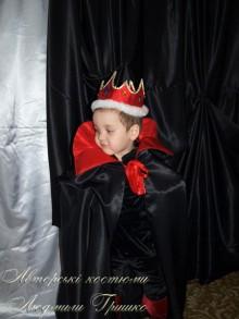 фото авторский карнавальный костюм кощея для мальчика