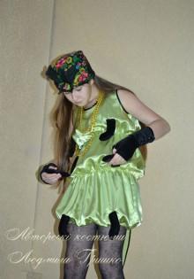 фото костюм сороконожки на новый год или праздник осени