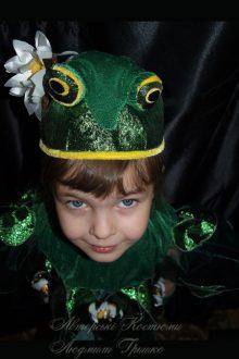 костюм лягушки фото шапочки