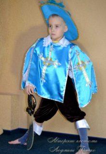 Мушкетер фото костюм для мальчика