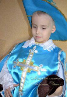 костюм мушкетера для мальчика фото