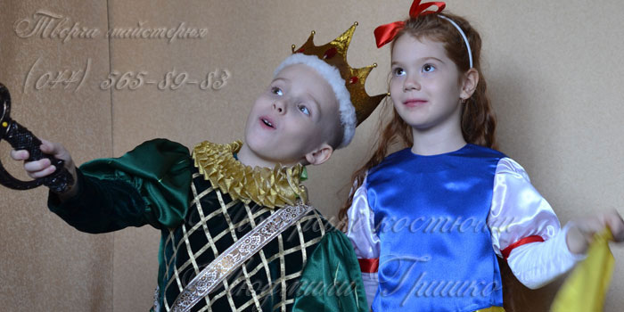 белоснежка и принц фото детских карнавальных костюмов