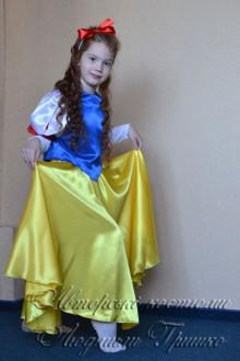 костюм Белоснежки с длинным рукавом фото