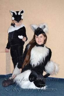 костюм кошки и котенка на новый год фото