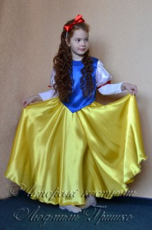 фото костюм белоснежки карнавальный