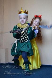 карнавальные наряды для детей фото Белоснежка и Принц