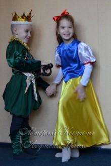 Белоснежка и принц фото авторских костюмов