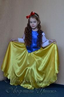 фото костюм Белоснежка детский
