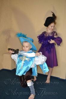 мушкетер и дама новогодние костюмы фото