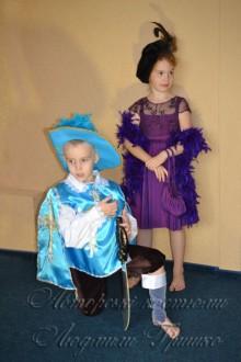мушкетер и дама карнавальные костюмы фото