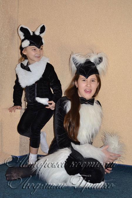 Как сделать костюм кошки для девочки фото 114