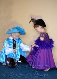 мушкетер и дама фото новогодних костюмов