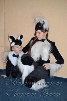 карнавальный костюм кошки и котенка фото