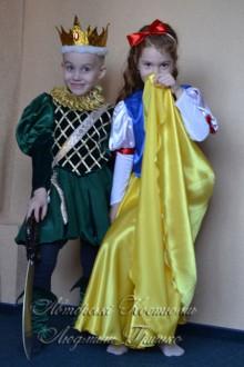Белоснежка и принц костюмы на праздник Осени