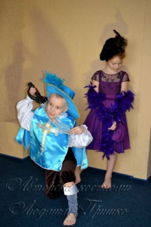 мушкетер и дама фото карнавальных костюмов для детей
