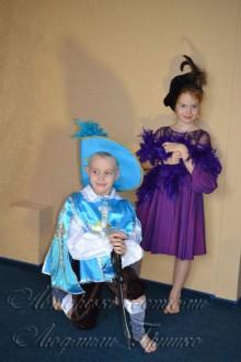 мушкетер и дама детские карнавальные костюмы фото