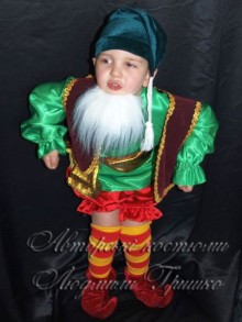 фото детский костюм гнома