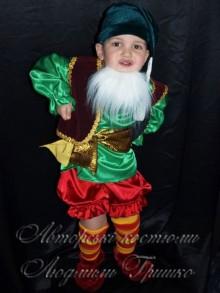 фото карнавальный костюм гнома на новый год
