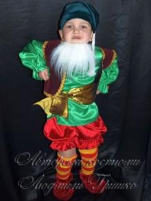 фото костюм гнома для мальчика на Halloween