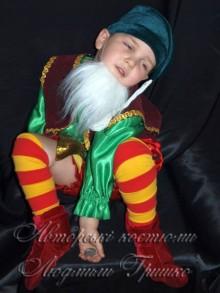 фото костюм гнома новогодний детский