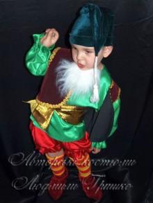 костюм гнома на Хеллоуин для мальчика