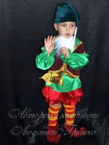 фото авторский карнавальный костюм гнома
