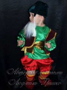 костюм гнома фото