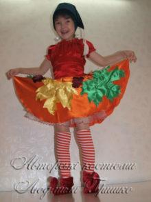 карнавальный костюм гнома девочки фото
