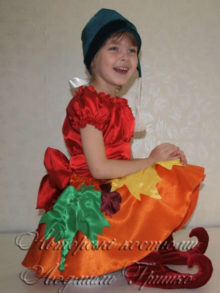 фото костюм гнома девочки