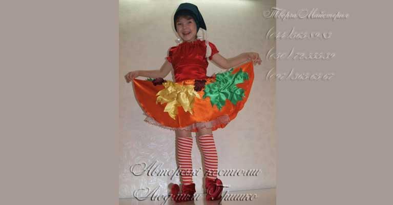 костюм гнома для девочки фото