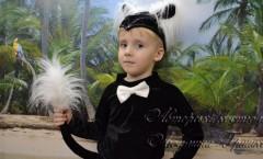 фото костюм кота на Halloween для мальчика