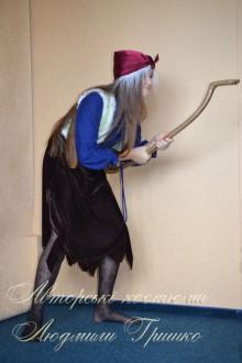 фото костюм бабы яги вид сбоку