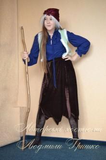 костюм Бабы Яги для роста 134-158 фото