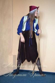 фото костюм Бабы Яги на Halloween