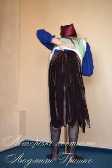 фото костюм бабы яги вид сзади