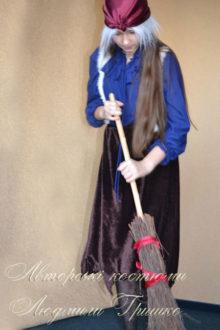 костюм бабы яги для подростка фото