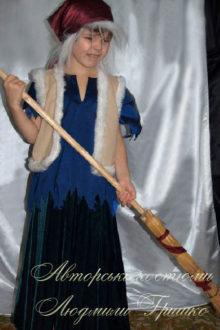 костюм бабы яги карнавальный фото
