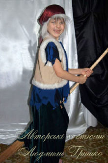 костюм бабы яги детский фото
