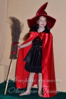 карнавальный авторский костюм ведьмочки фото