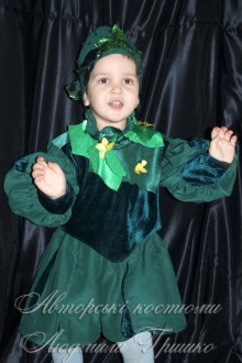 костюм огурчика детский фото
