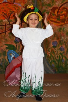 костюм грибочка для мальчика фото на утреннике