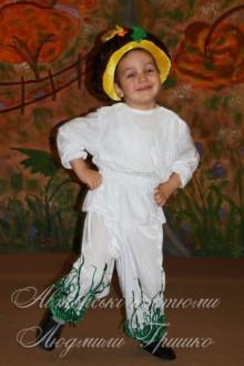 авторский костюм грибочка на праздник осени фото