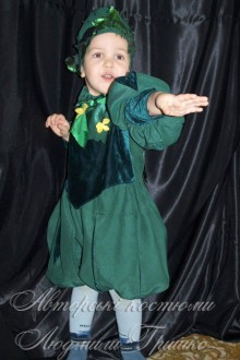 детский костюм огурчика фото