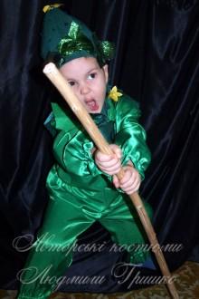 детский костюм огурца фото 837