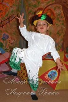 авторский карнавальный костюм грибочка фото