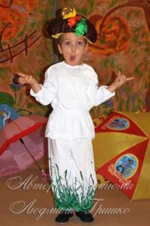детский костюм грибочка для мальчика фото