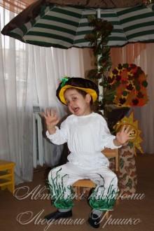 фото детский костюм грибочка на праздник осени